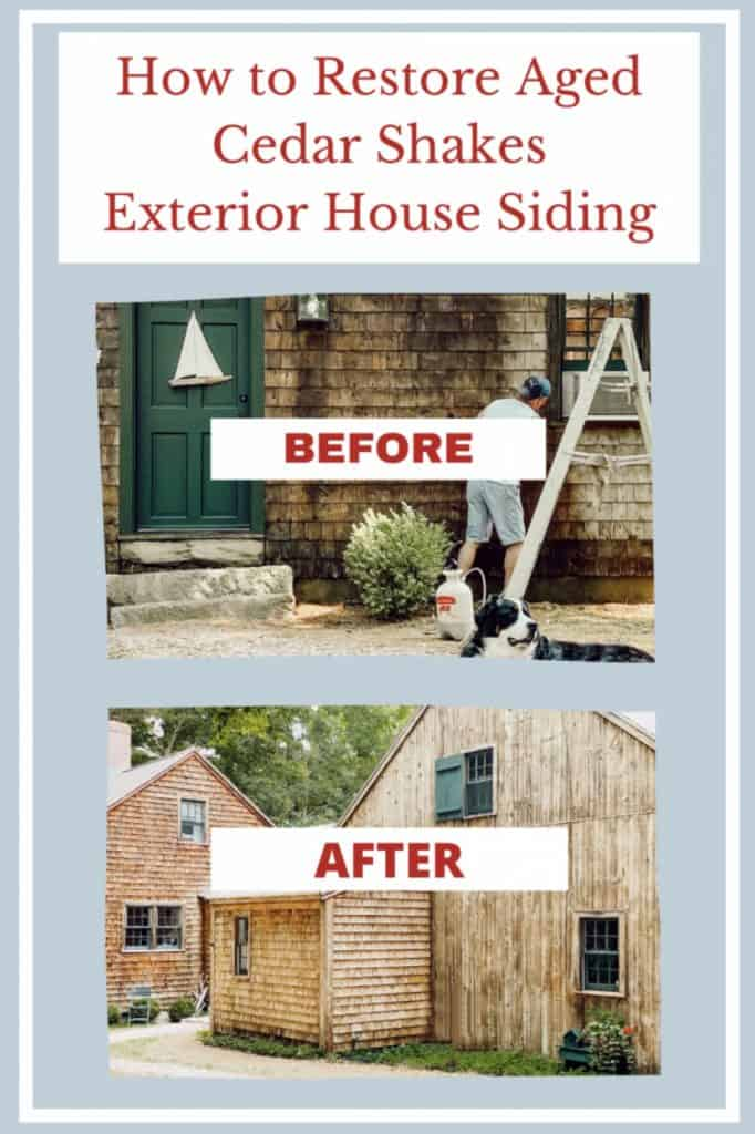 How to Restore Cedar Shake Siding