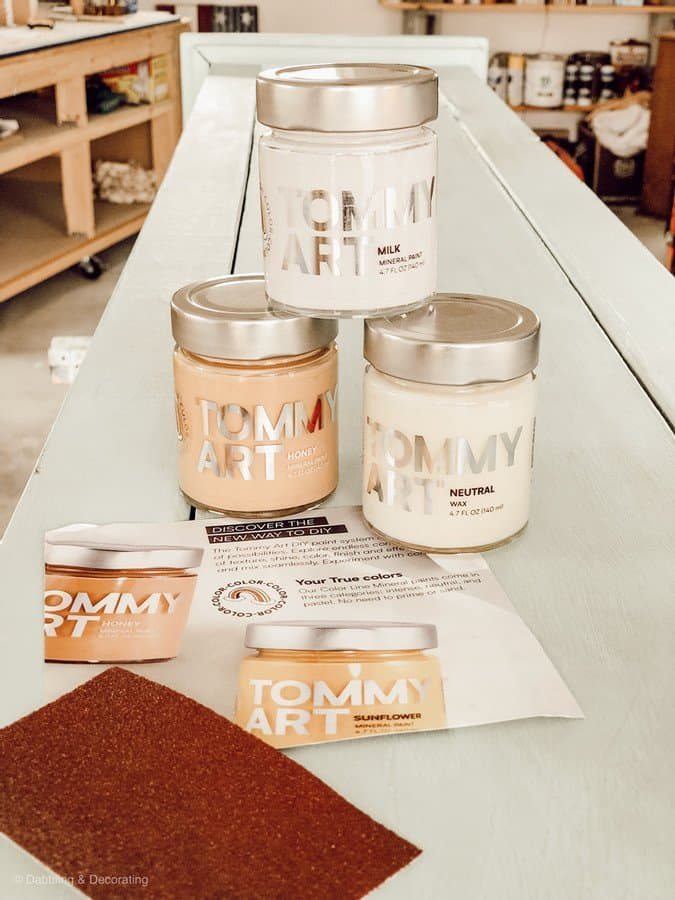 Tommy Art Distressed Vintage Paint Kit