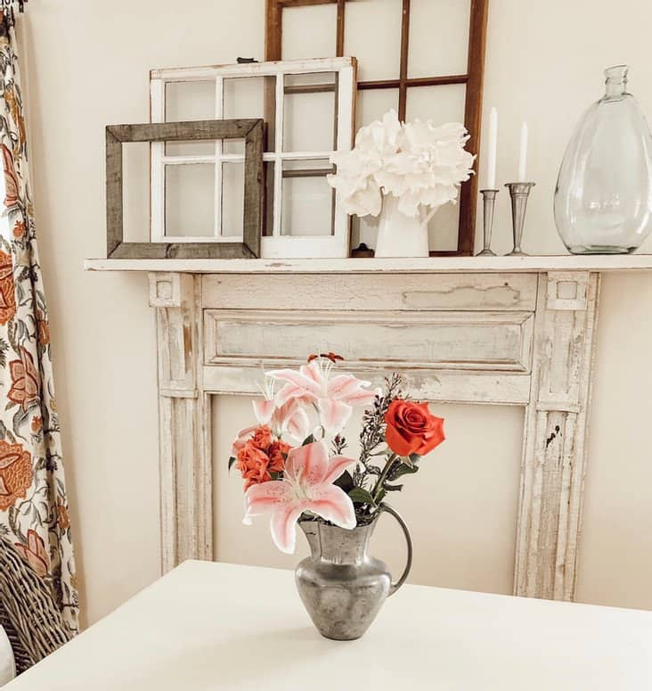 Vintage Fireplace Mantel Easy Install & Decorating Ideas