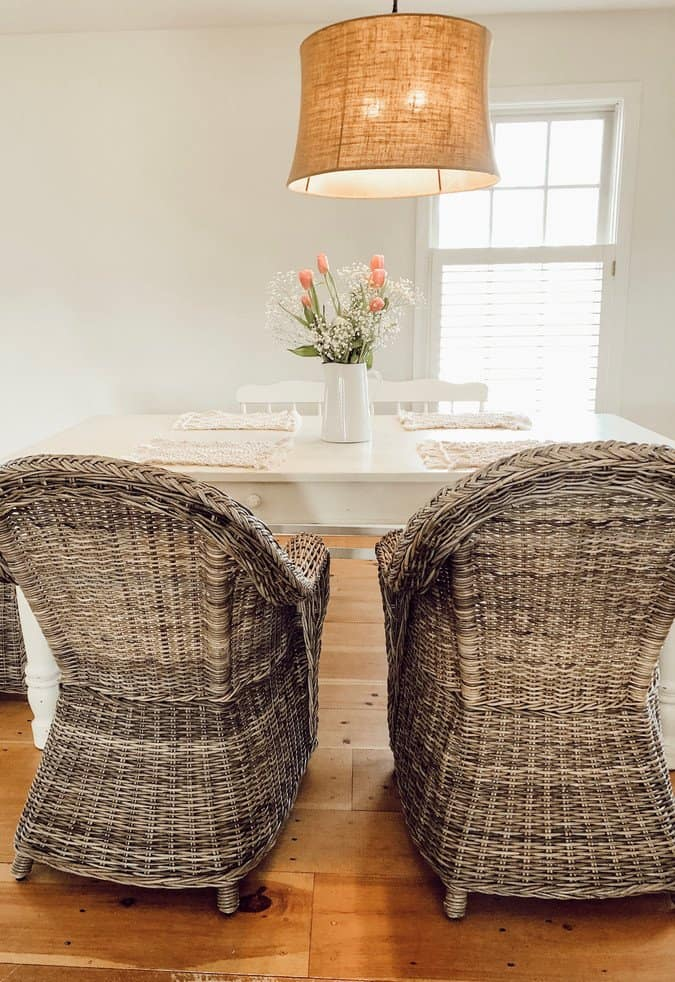 White Paint Colors for Walls Dining Room