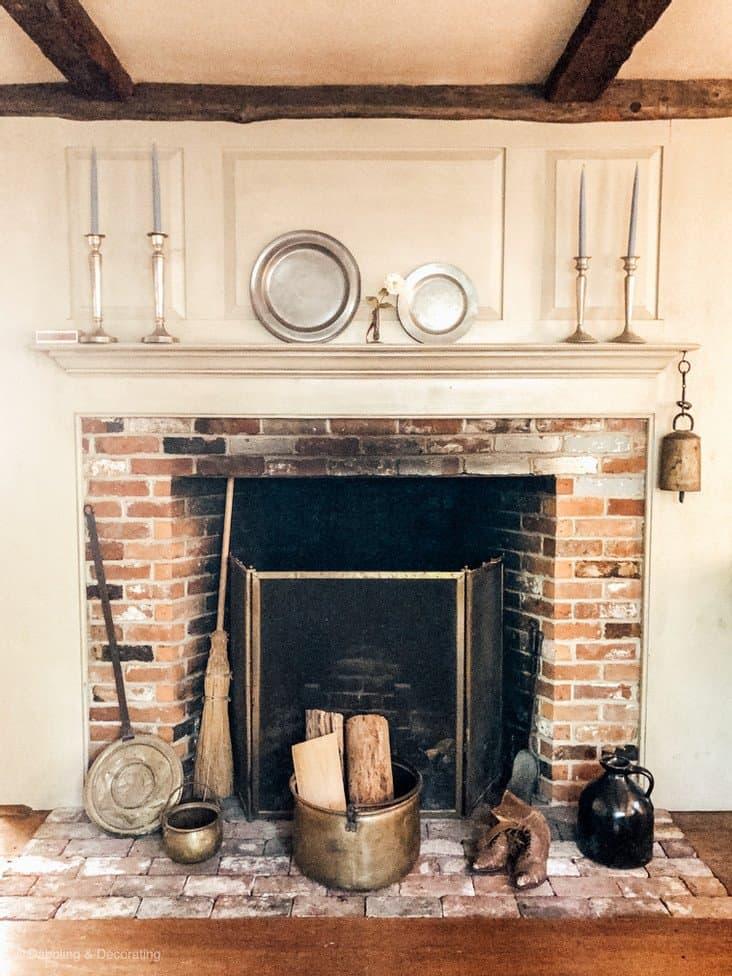Family Inherited Coastal Maine Home. Fireplace