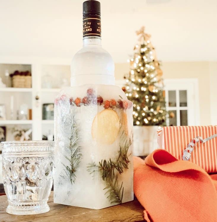 DIY Ice Bucket for Entertaining.