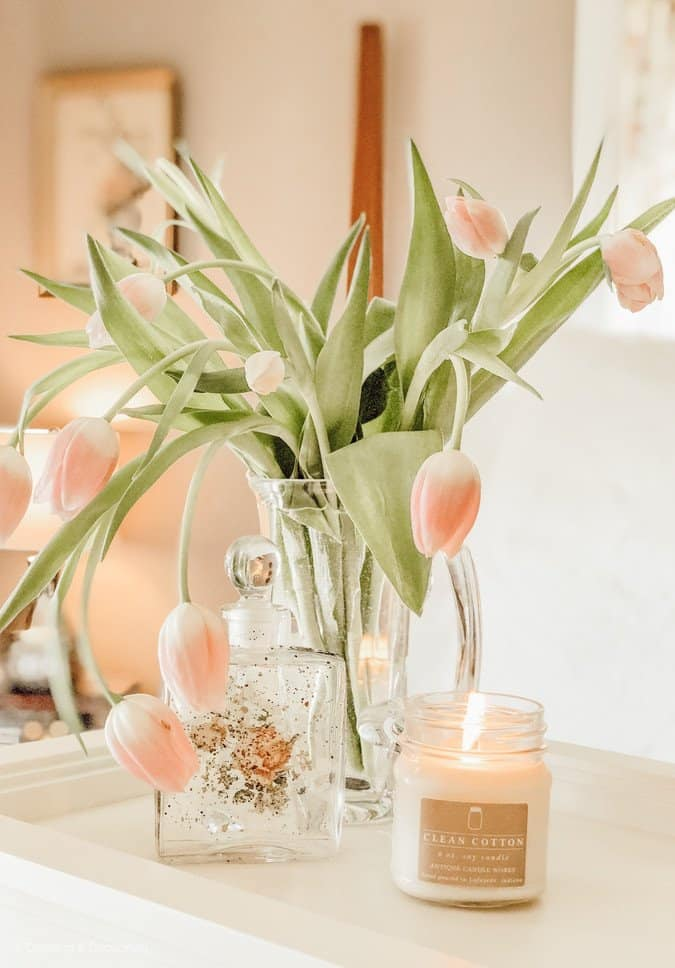 Guest Bedroom Spring Decor