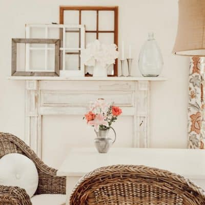 Vintage Fireplace Mantel Easy Install and Decorating Ideas