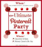 The Ultimate Pinterest Party Feature Button