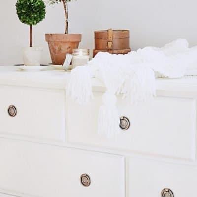 DIY Bedroom Dresser Makeover