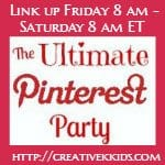 The Ultimate Pinterest Party Featured Button