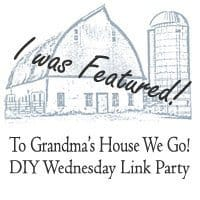 To Grandma's House We Go DIY Wednesday Link Party