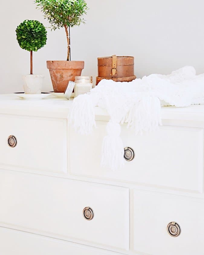 Repurposed Dresser DIY painting project.