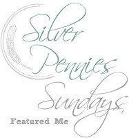 Silver Pennies Sundays Featured Me Button