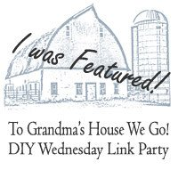 To Grandma's house We Go Featured Button.