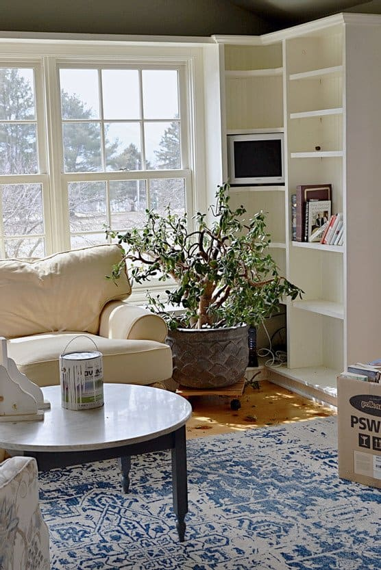 Sun Room Makeover Before