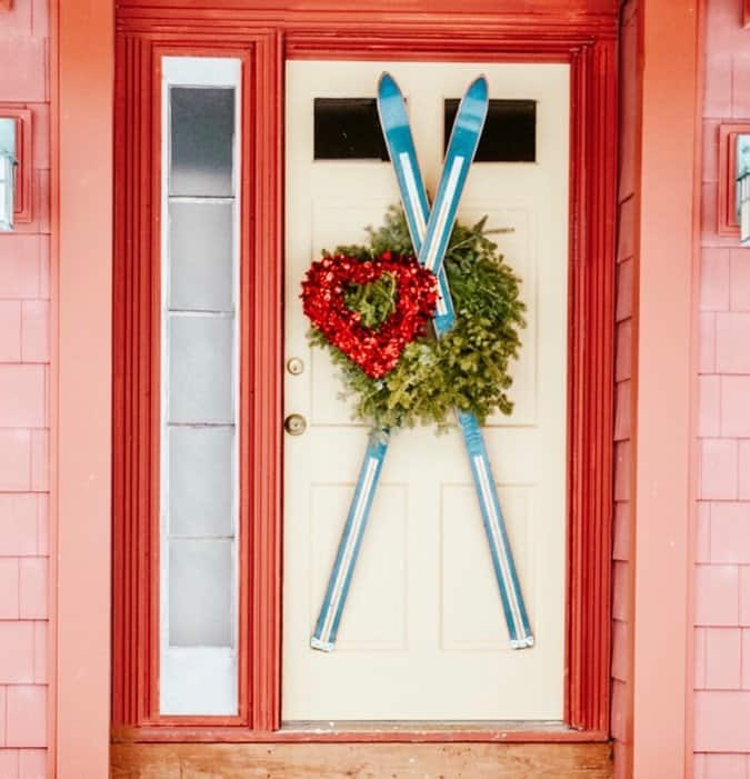 Valentines Day Decorating Ideas Outside Vintage Style