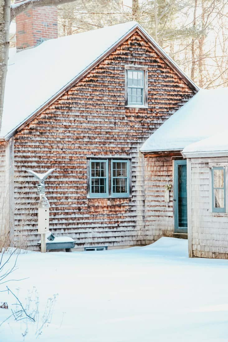 Our Family Inherited Coastal Maine Home ~ Before
