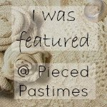 Pieced Pastime Link Up Party Featured Button