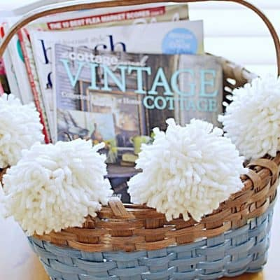Thrifty Baskets with Farmhouse Style!
