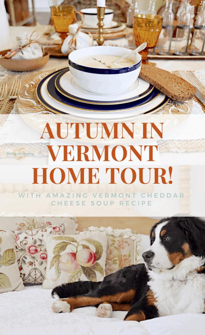 Autumn in Vermont Home Tour!