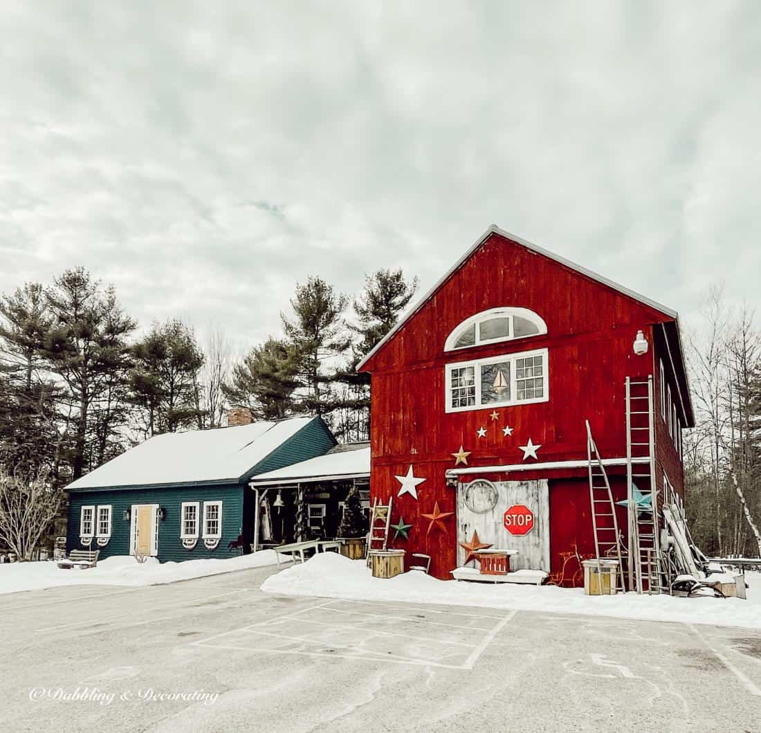 My Favorite Antique and Thrift Shops from Vermont to Maine.   The Americana Workshop