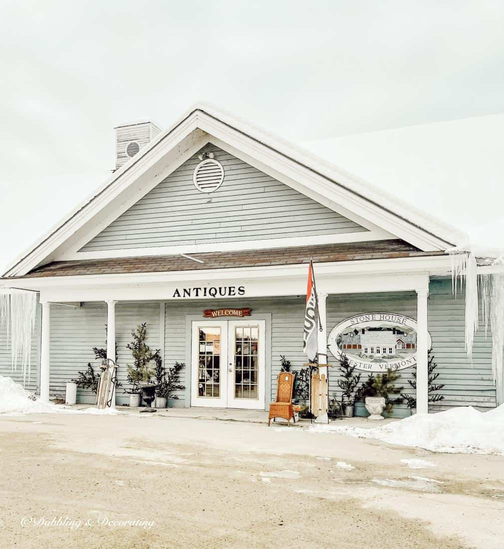 My Favorite Antique and Thrift Shops from Vermont to Maine.  Stone House Antique Center.