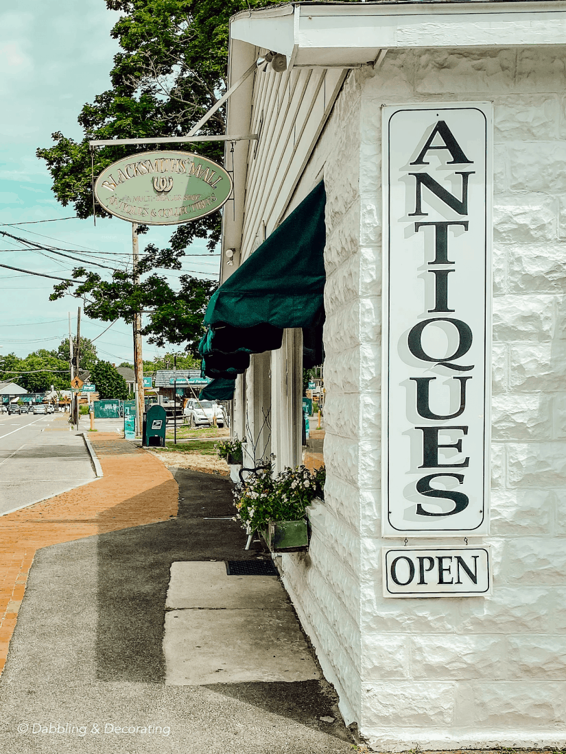 My Favorite Antique and Thrift Shops from Vermont to Maine. Cottage by the Brook.