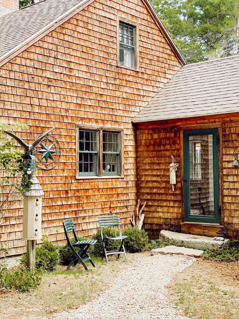 How We Restored our Aged Cedar Shake Siding
