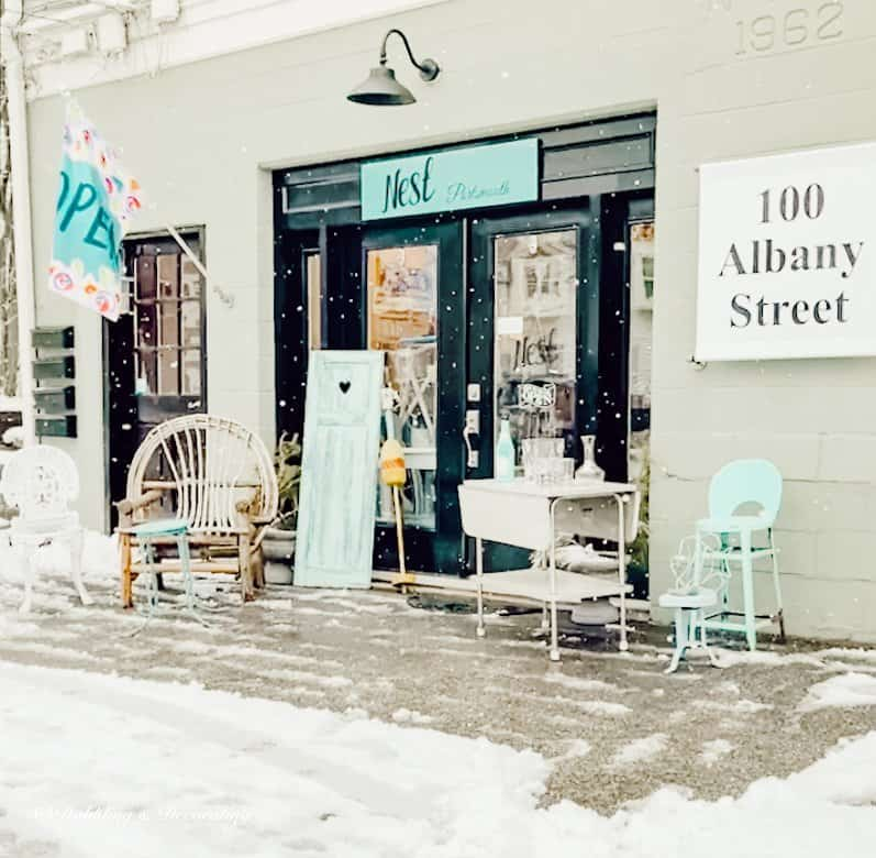 My Favorite Antique and Thrift Shops from Vermont to Maine.  Nest Portsmouth