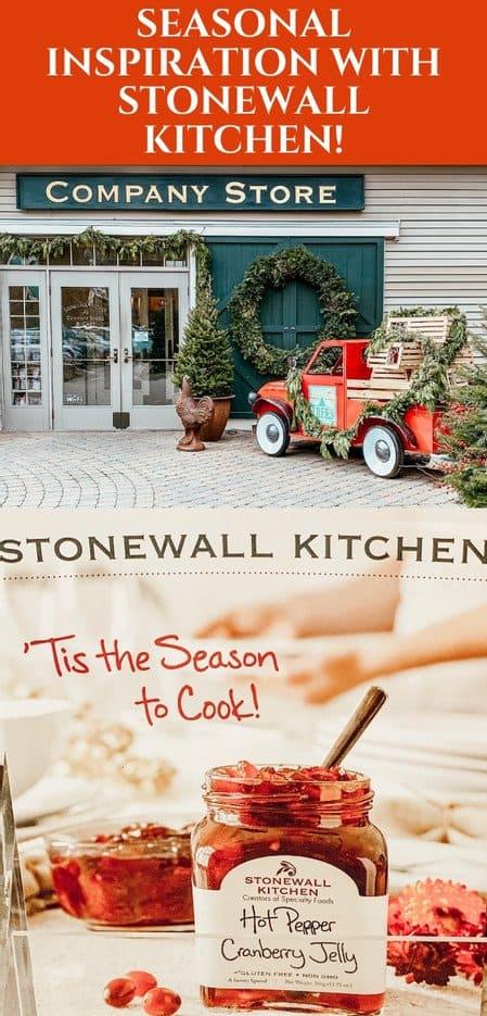 Seasonal Inspiration with Stonewall Kitchen
