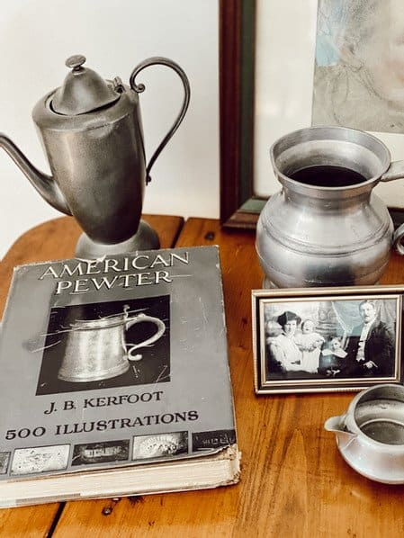 An Antique Pewter Collection