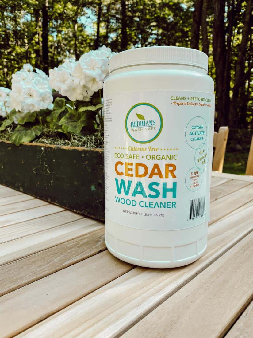 How We Restored our Aged Cedar Shake Siding with Redihan's Wash Safe.