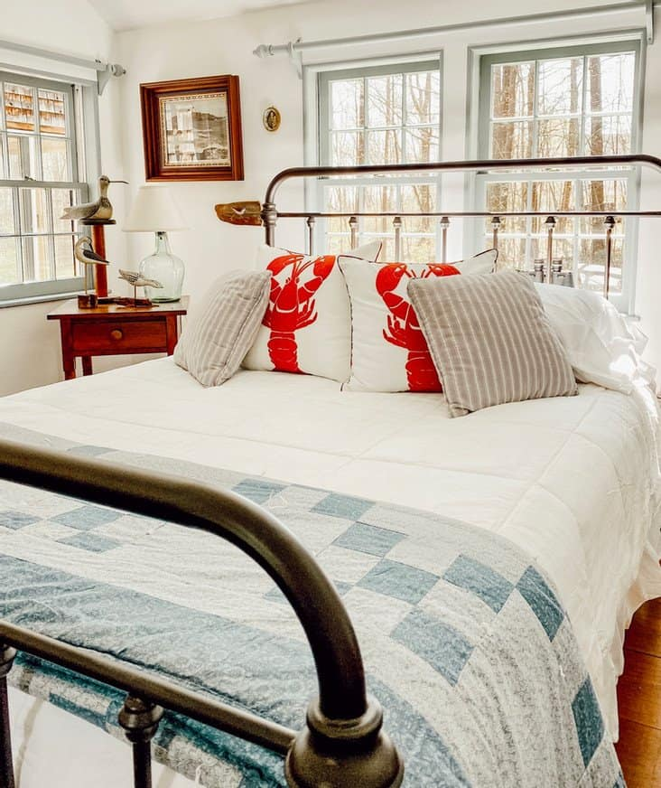 "Coastal Cottage Styled Bedroom ""In My Mother's Home..."""