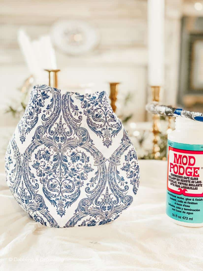 How to Decoupage Old Treasures