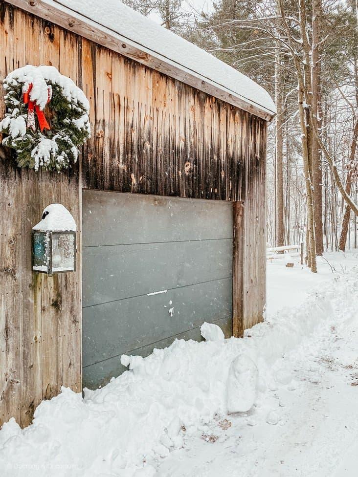 Christmas Wreath Front Door