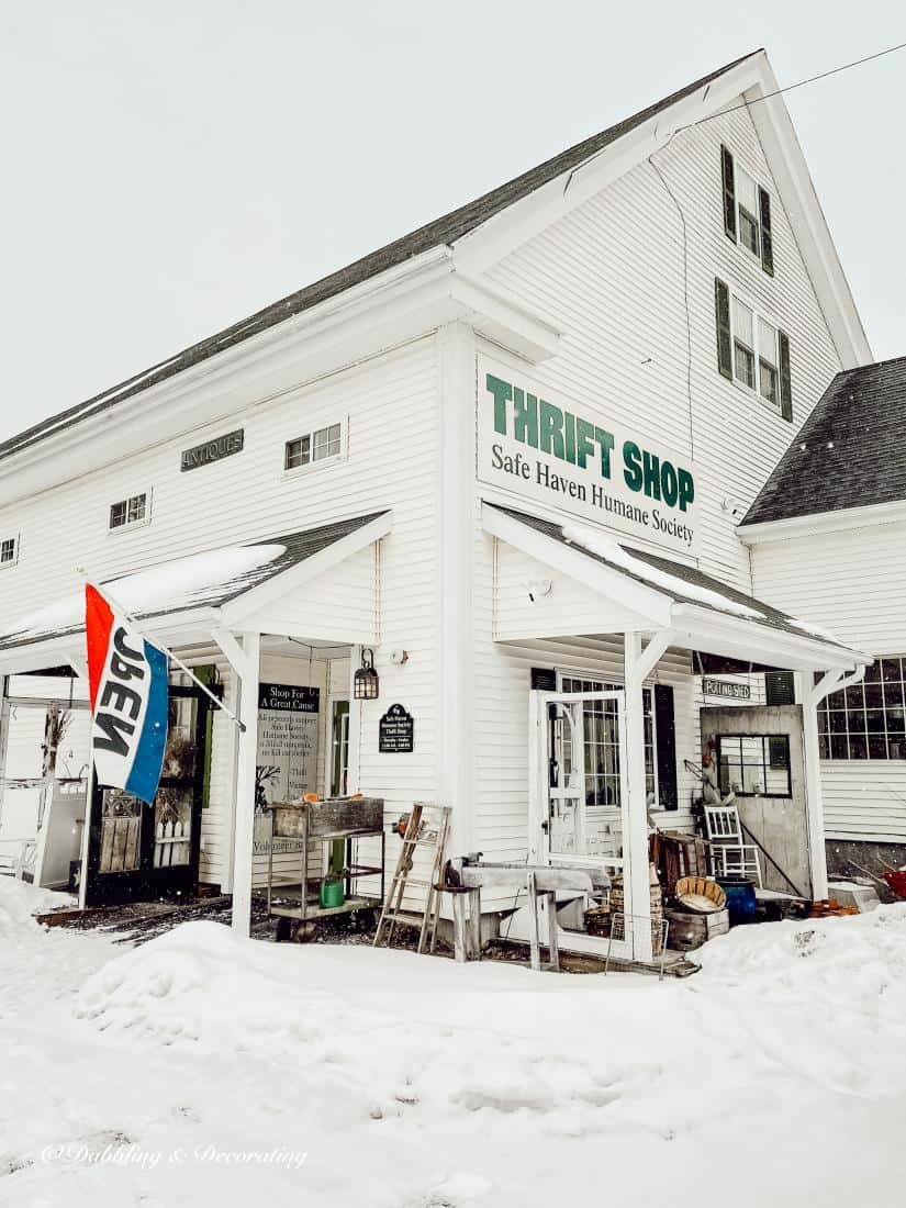 My Favorite Antique and Thrift Shops from Vermont to Maine.