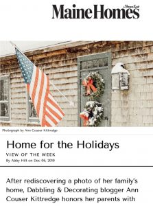 Maines Homes Magazine Article