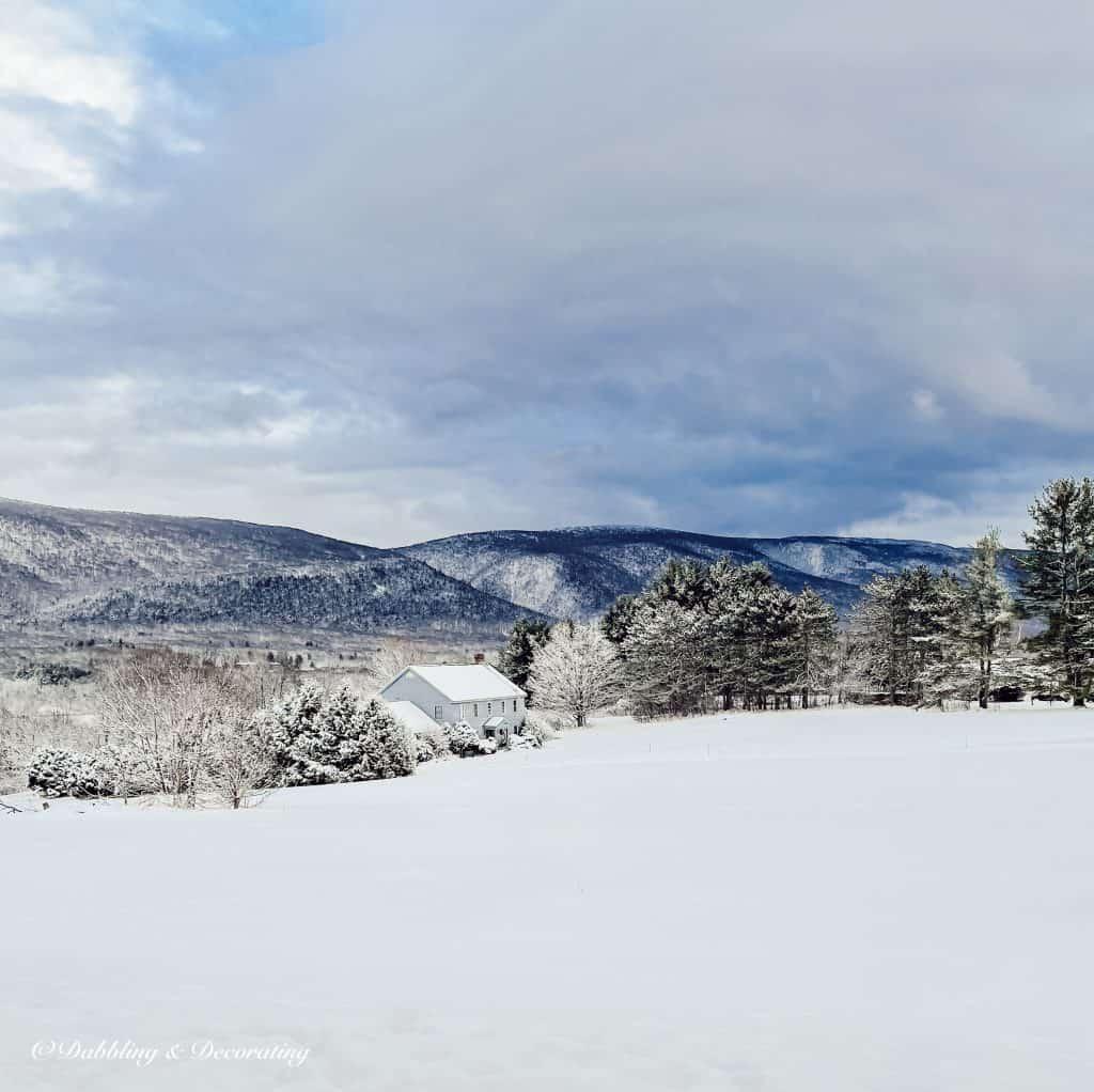 Vermont Home Mountain Views