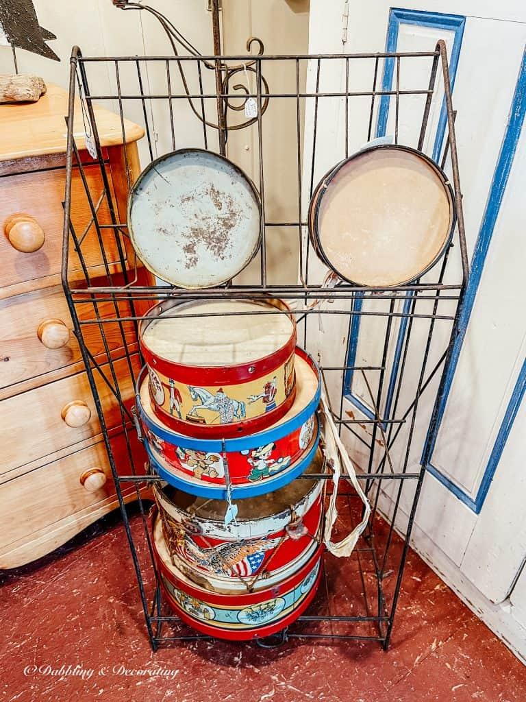 Old drums