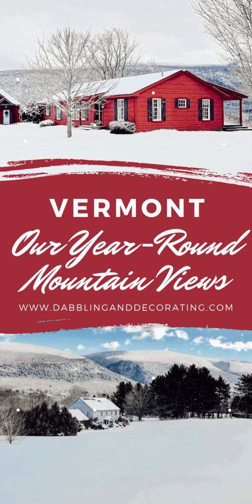 Our Year-Round Vermont Mountain Views