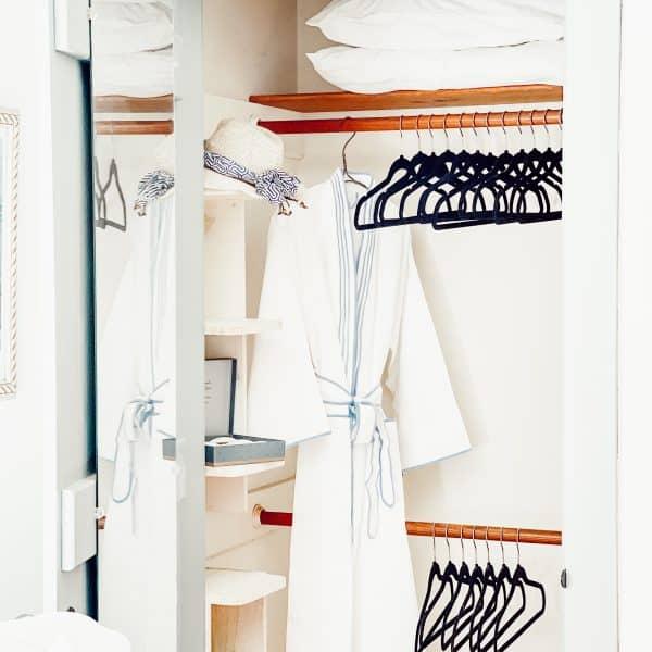 18 Thrifted Black Velvet Clothes Hangers