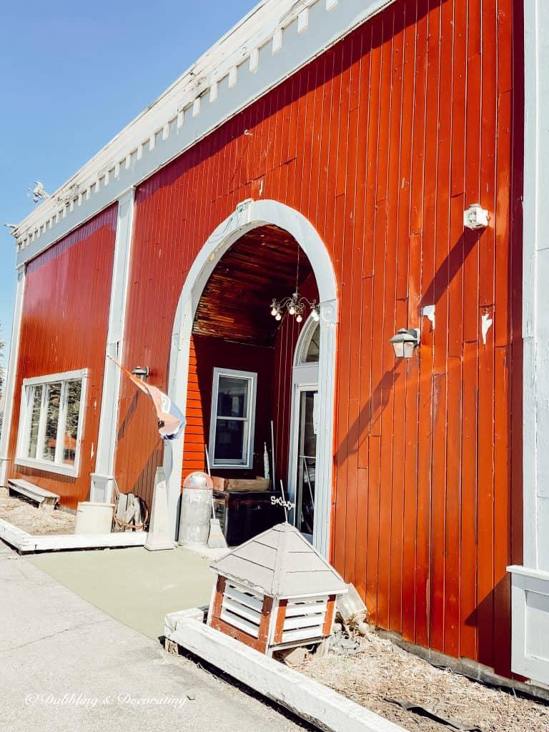 Eagle Bridge Antique Center | Red Barn.