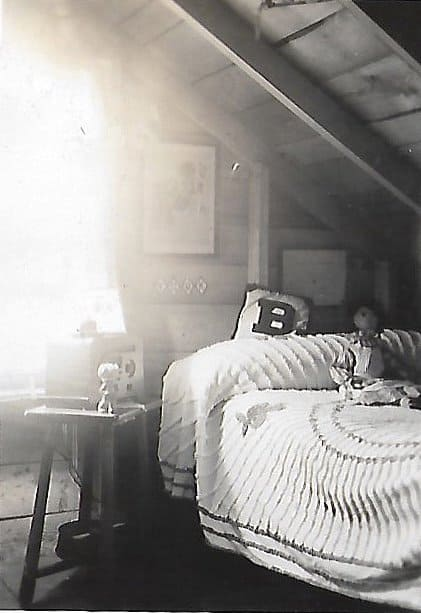 Bedroom at Coupe's Gift Shop 1930's.  Coastal Maine Heritage - Embracing My Roots