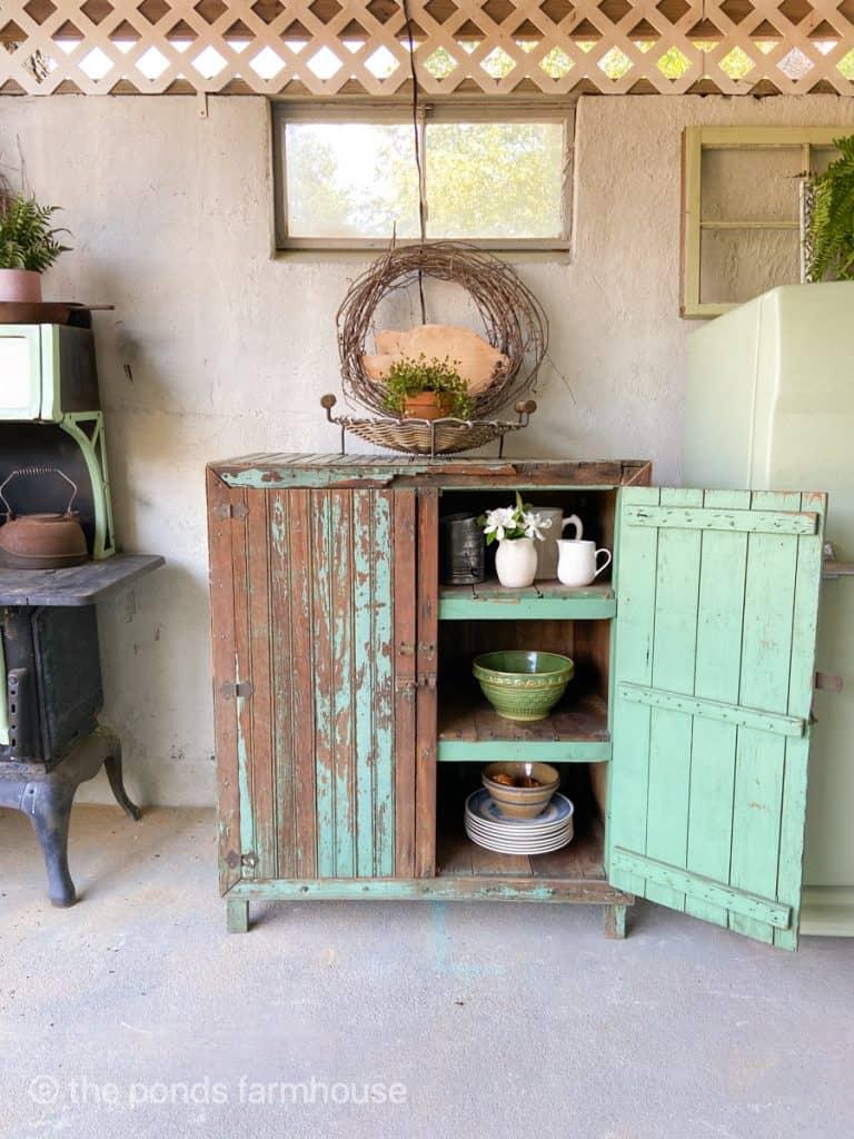 7 Outdoor Vintage Kitchen Decor Ideas