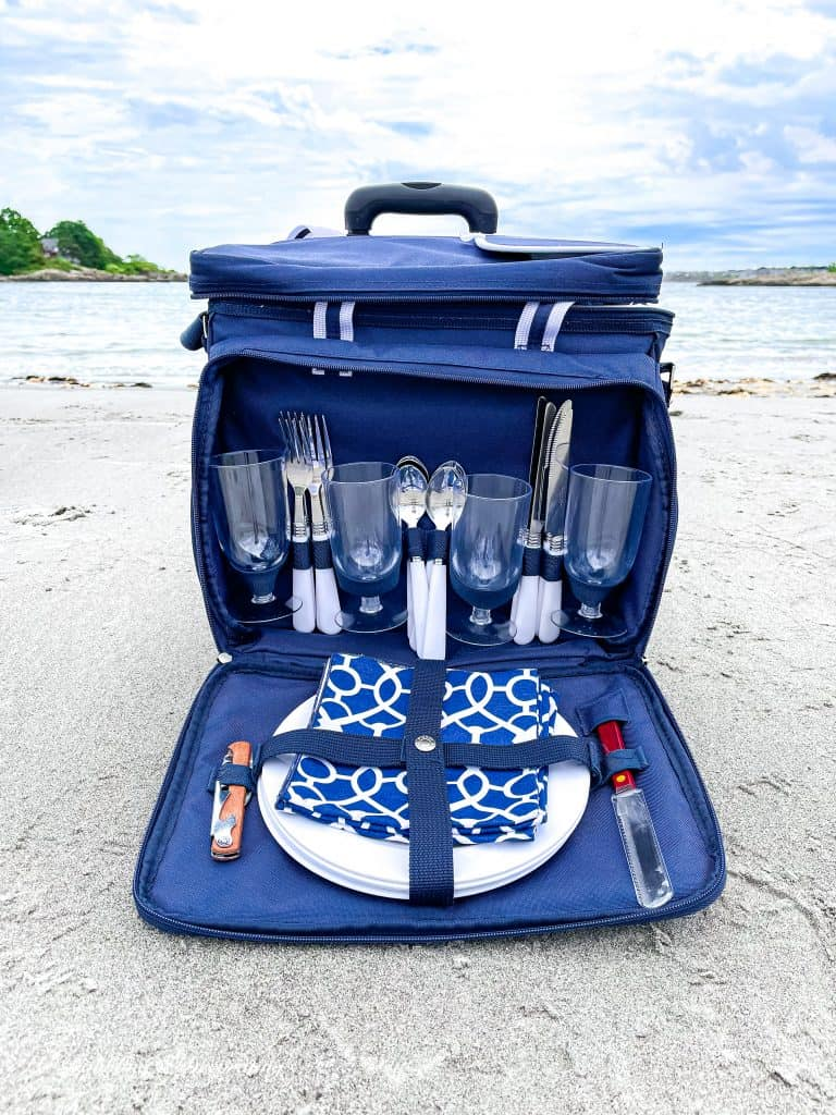 My Favorite Beach Day Essentials  The picnic at Ascot Cooler.