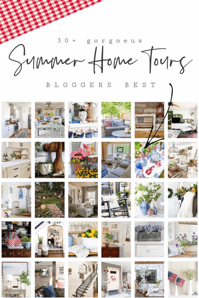 Bloggers Best Summer Home Tour