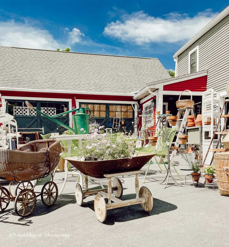 What does frugality mean to you?  Sage Farms Antique Center.