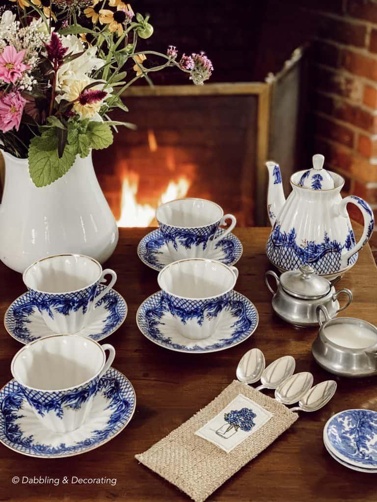 Morning Coffee Fireside Table