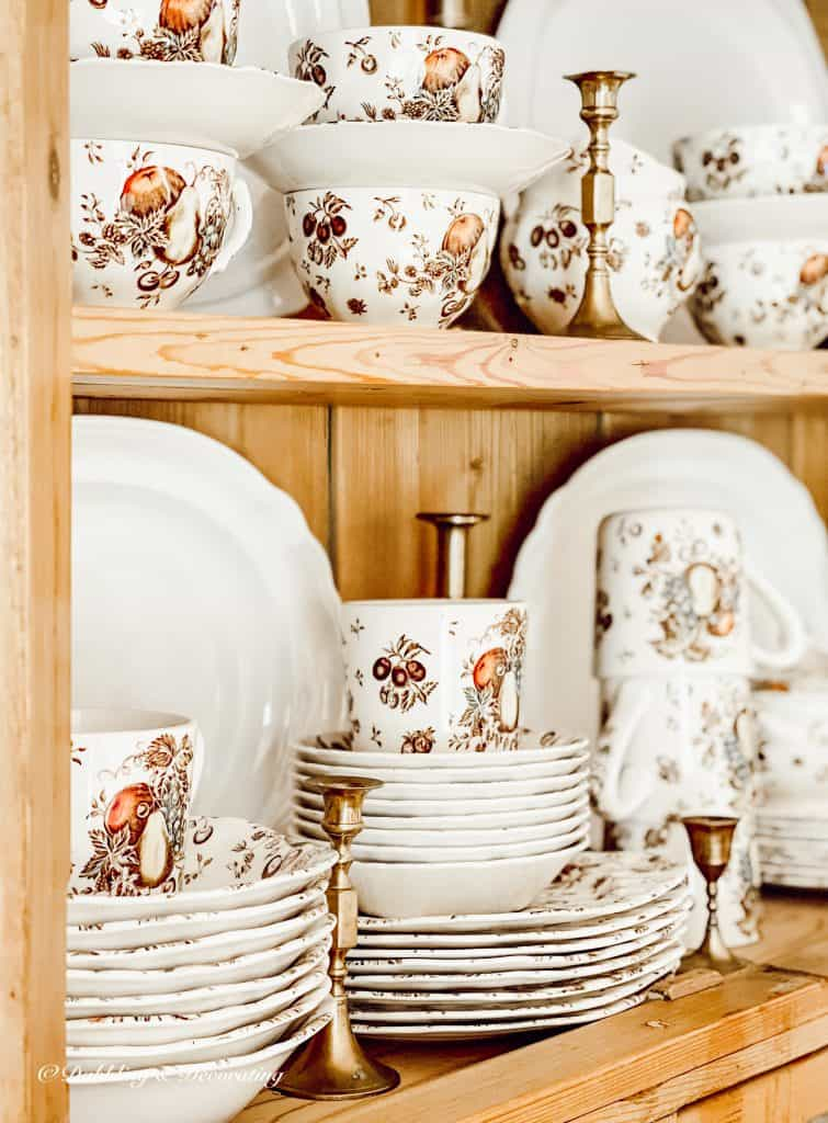 Autumn Delight Dishware by Johnson and Brothers.