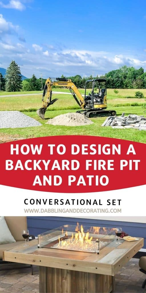 How to Design a Backyard FIRE PIT AND PATIO