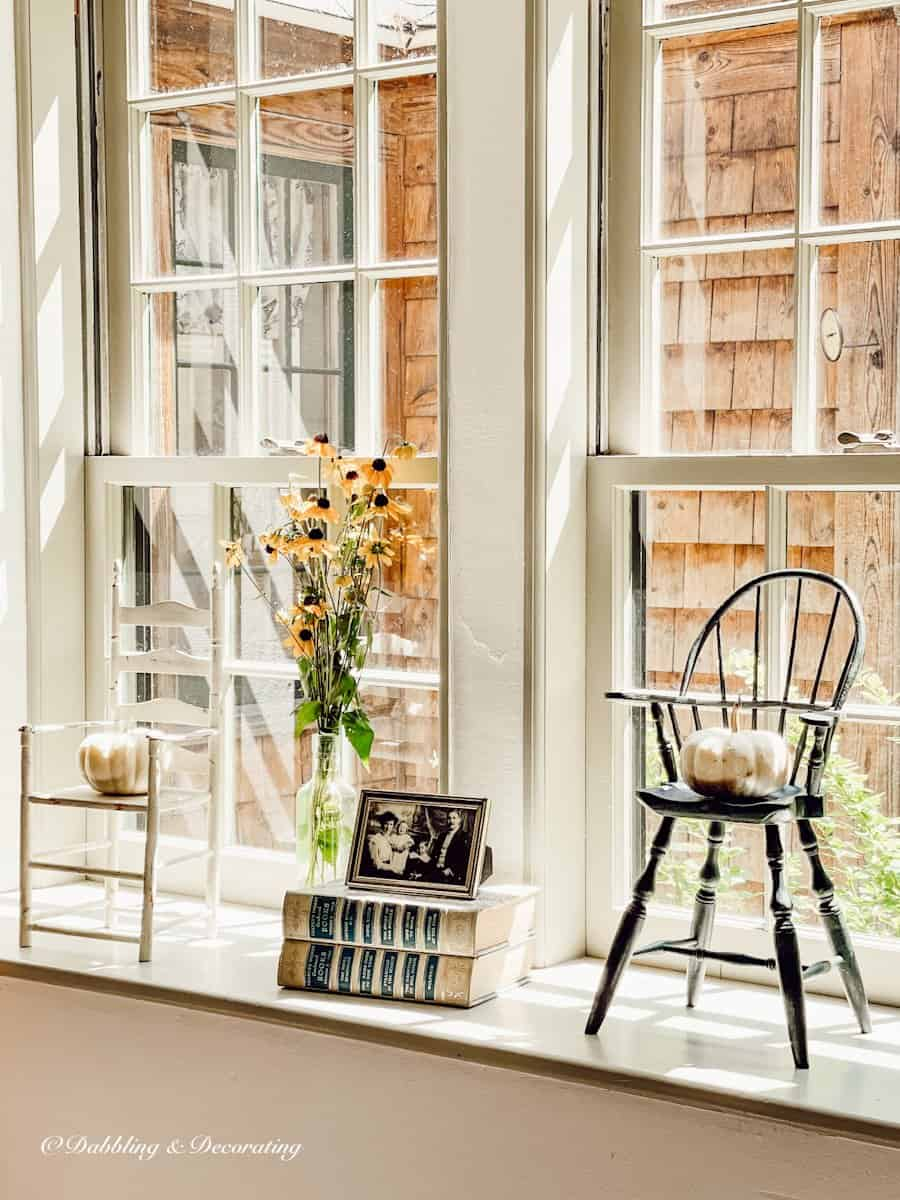 Fall Windowsill