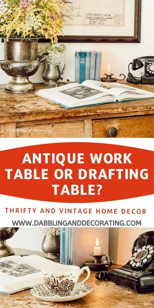 Antique Work Table or Drafting Table?