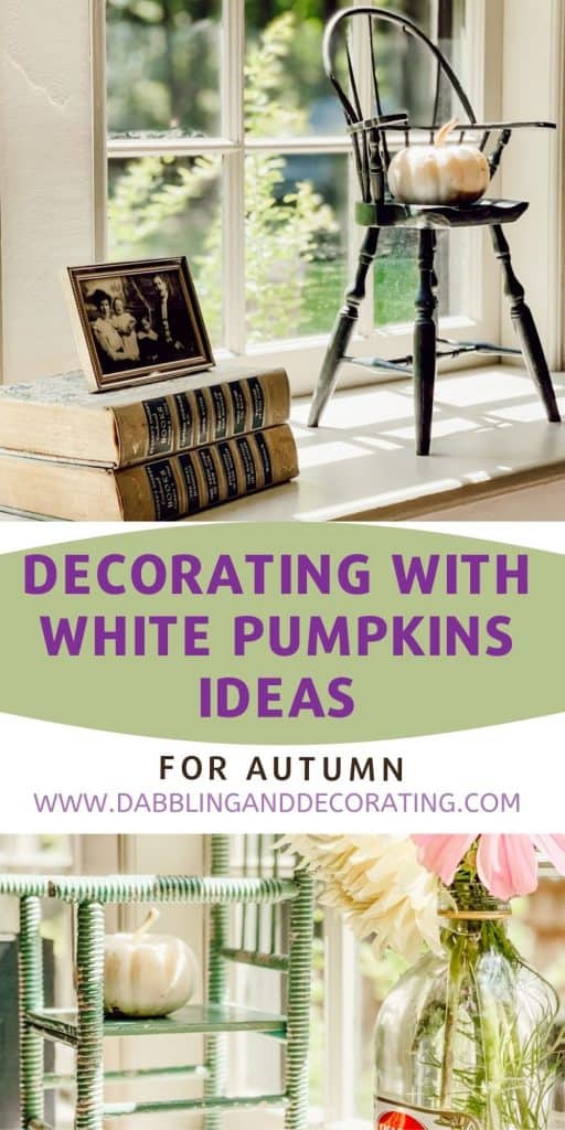 Decorating with White Pumpkins Ideas